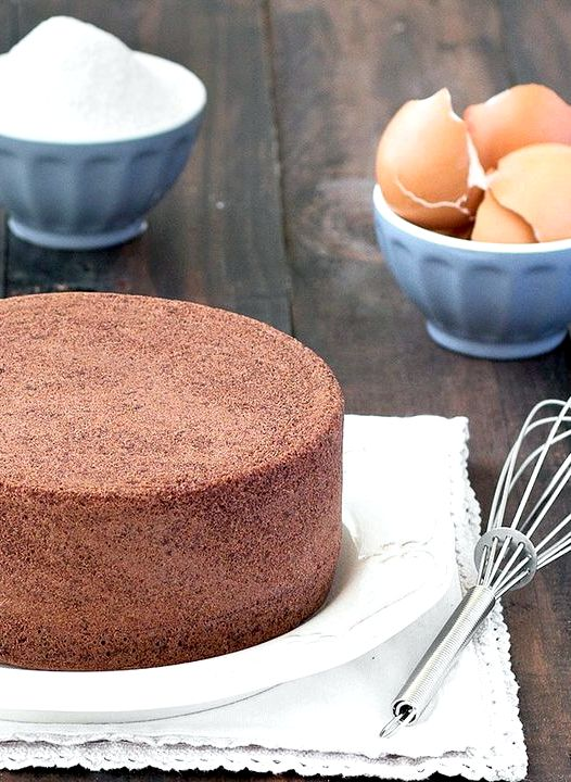 6 inch chocolate sponge cake recipe