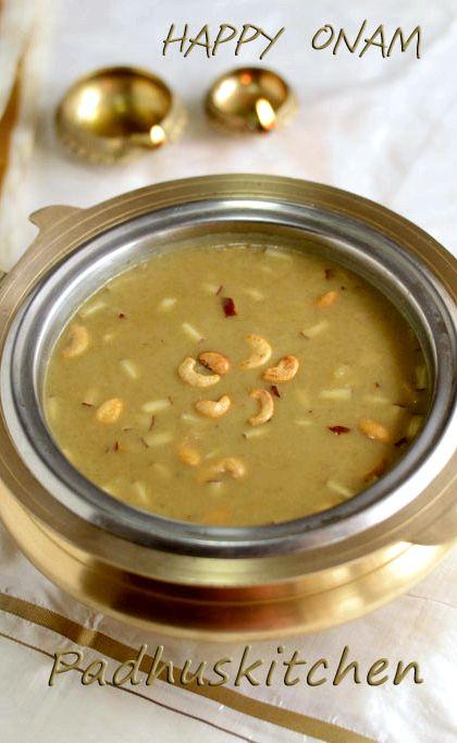 Padhuskitchen: Ada Pradhaman Recipe-Kerala style (with ...
