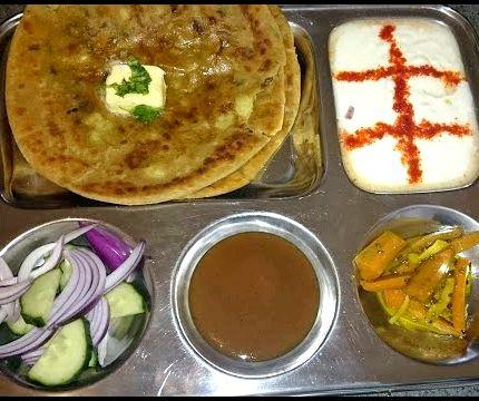 Aloo paratha recipe in hindi nisha madhulika kitchen