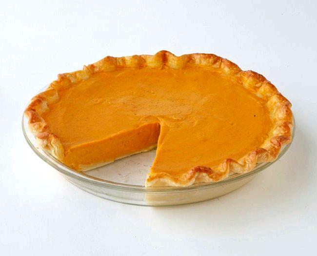 American sweet pumpkin pie recipe