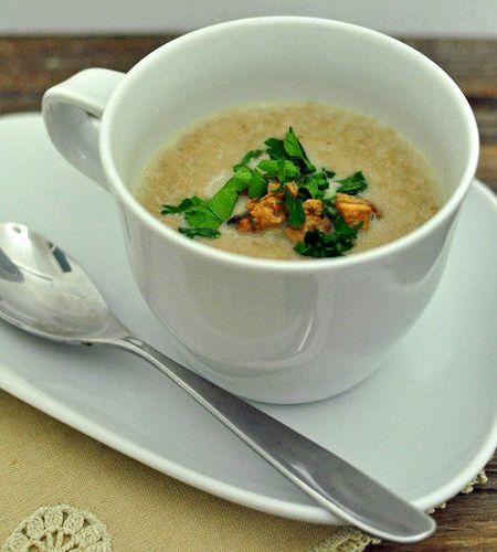 Anthony bourdain mushroom soup recipe