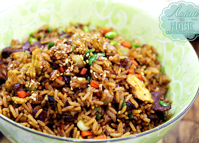 Asian sauce recipe for rice