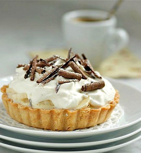 Banana cream pie tarts recipe