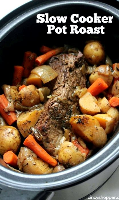Soul Food Crock Pot Roast Recipe