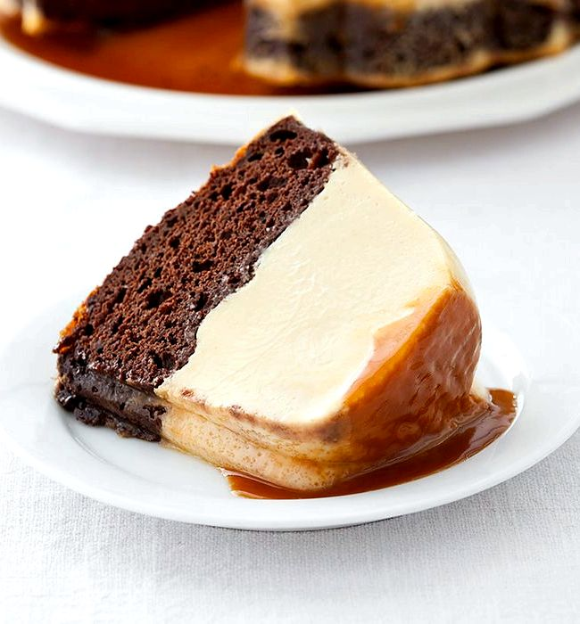 Chocolate Flan With Cake Mix