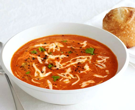 Best roasted red bell pepper soup recipe
