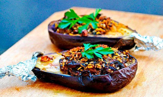 Best Vegetarian Stuffed Eggplant Recipe