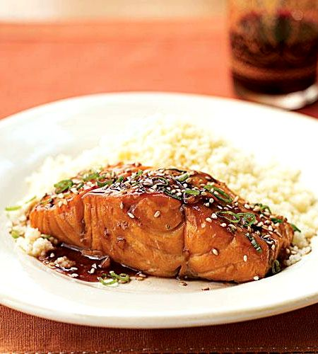 Bourbon glazed salmon recipe food network Food network recipes