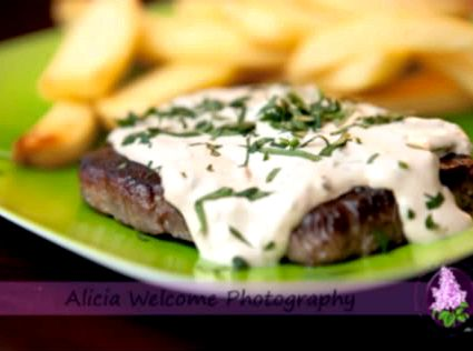 Boursin cream sauce recipe for steak