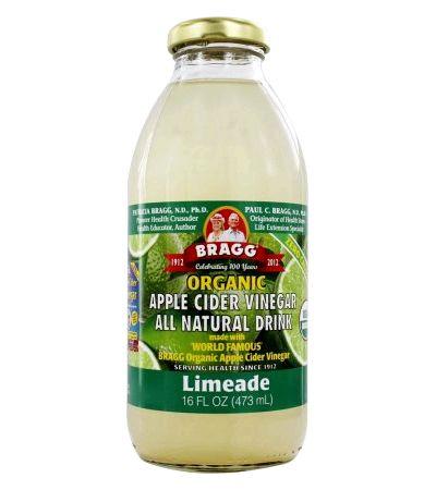 Braggs apple cider vinegar limeade recipe