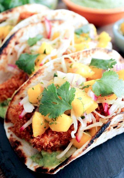 Breaded tilapia fish taco recipe for Tilapia fish taco recipes