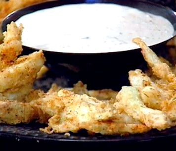 Buttermilk battered french fries recipe