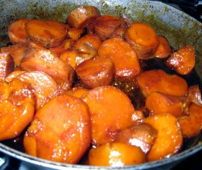 Candied sweet potato recipe canned sweet