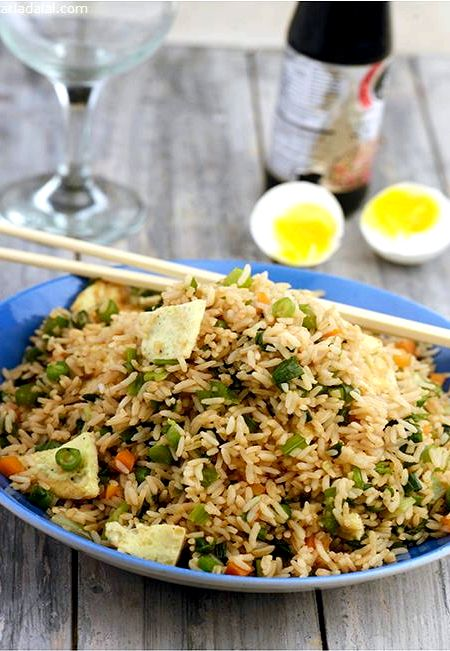 Cantonese egg fried rice recipe