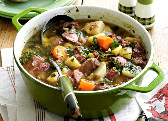 Cawl welsh lamb soup recipe