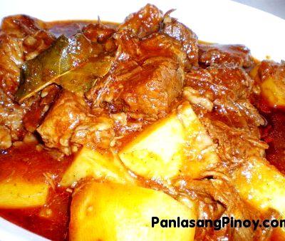how to cook pork menudo kapampangan style