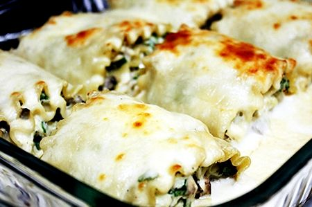 Chicken spinach alfredo lasagna recipe
