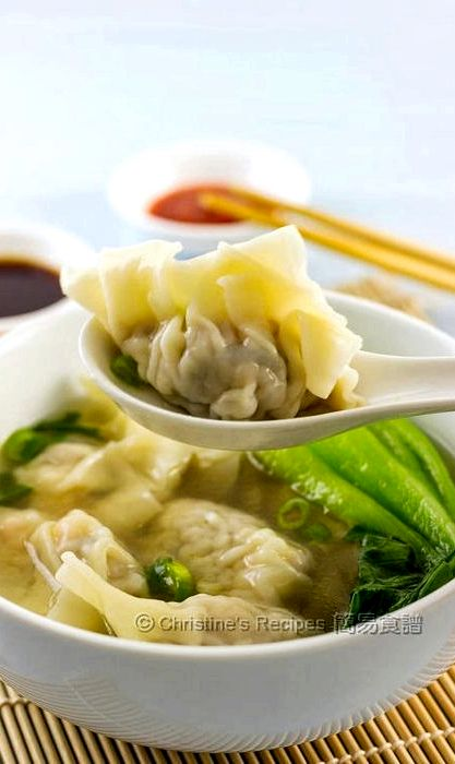 Chinese chicken and dumplings soup recipe