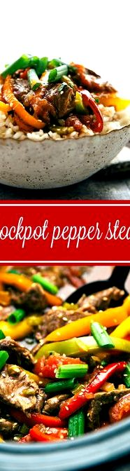 Chinese pepper steak recipe crock pot