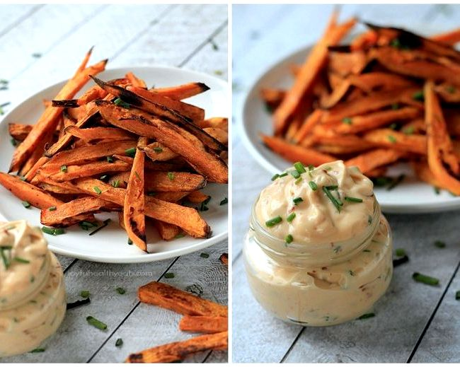 Chipotle aioli recipe for sweet potato fries