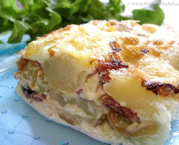 Comment couper le fromage pour la tartiflette recipe - Comment couper le reblochon pour la tartiflette ...
