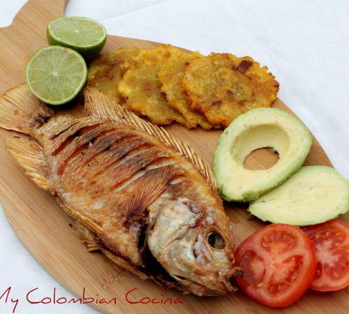 Como hacer el pescado mojarra frita recipe for Como cocinar pescado
