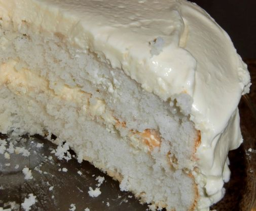cool whip topping on cake
