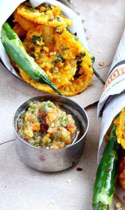 Crispy bhajia recipe potato gratin