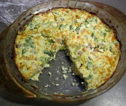 Crustless broccoli quiche muffins recipe