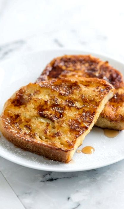 Easy french toast recipe for 1