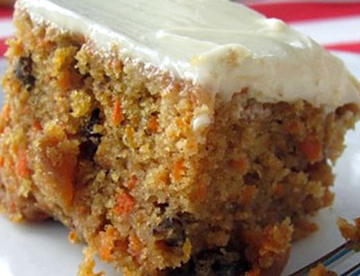 Eggless carrot cake recipe nzt