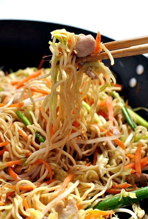 Fast food chinese lo mein recipe