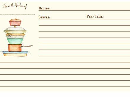 fillable 5x7 recipe card template