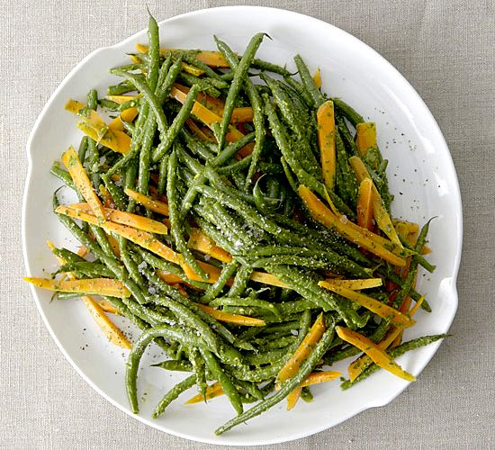 Green bean and carrots recipe