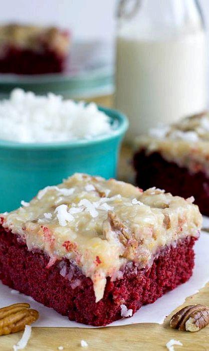 Green Velvet Cake Recipe German Chocolate Cake Mix