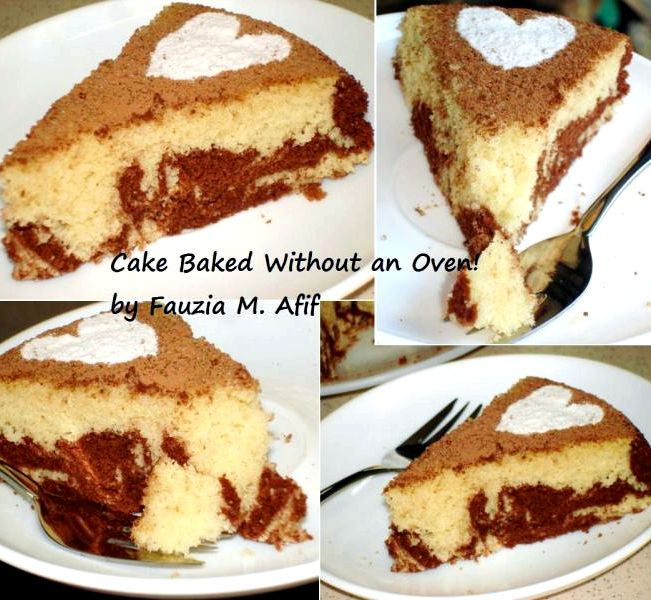 Homemade cake recipe without using oven bake for How to make home cake without oven