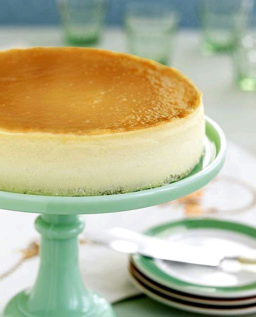 how to cook cheesecake without crust