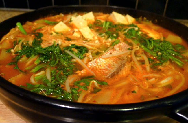 Korean spicy fish soup recipe