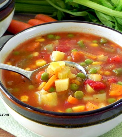 Low sodium chicken vegetable soup recipe