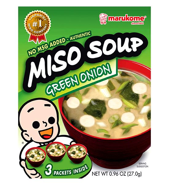 Miso soup recipe with tofu and kale