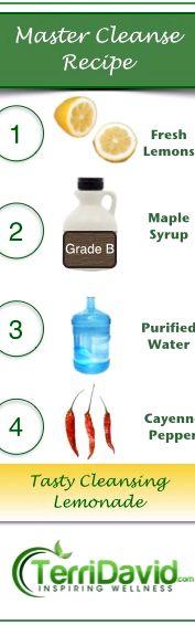Master Cleanse Lemonade Diet Recipe 1 Gallon