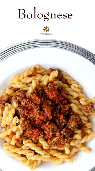 Meat sauce recipe with carrots and onions