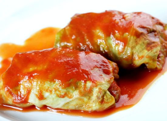 Meatless stuffed cabbage rolls recipe