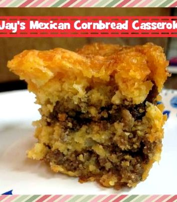 Mexican cornbread casserole recipe sour cream