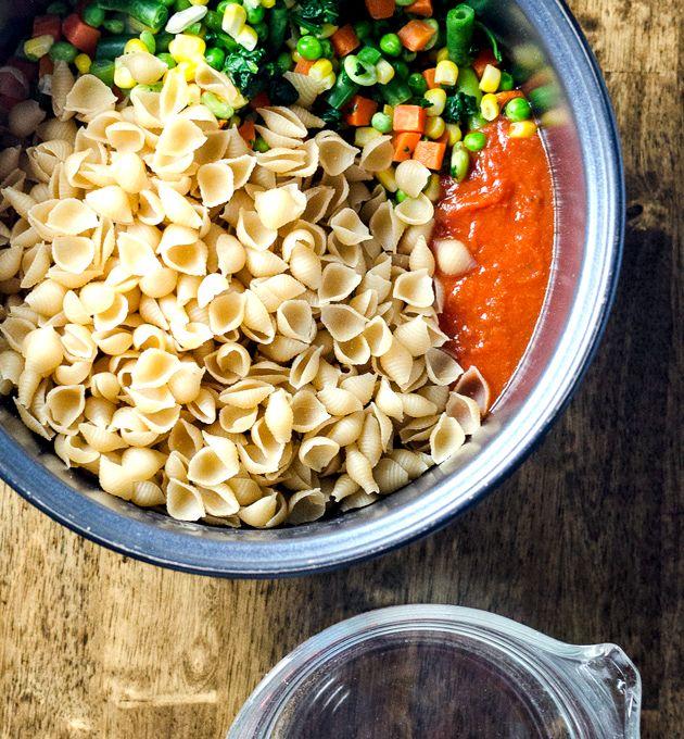 how to prepare rice pasta
