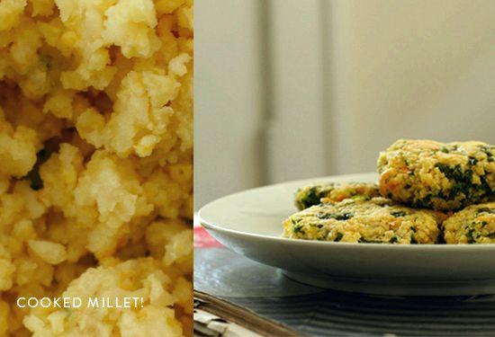 Millet croquettes recipe gluten free