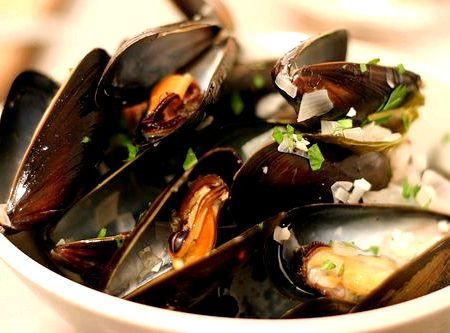 Moules mariniere french recipe for coq