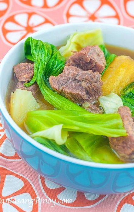 Nilagang baka recipe knorr vegetable soup