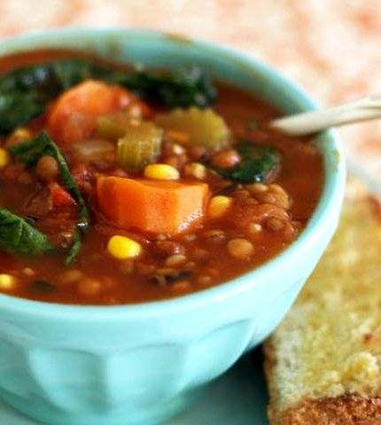 No tomato vegetable soup recipe