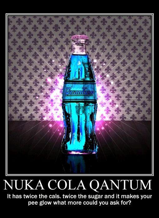 Nuka Cola Quantum Recipe Fallout 4 Wallpaper